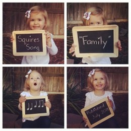 Big News from The Squires Family
